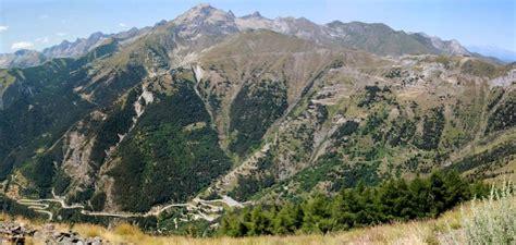 col di tende berge und p 228 sse der alpen