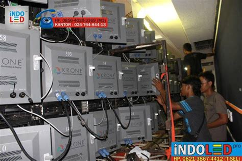 indoled pro spesialis led display sistem screen