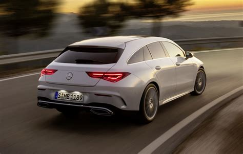 Hier Is De Mercedesbenz Cla Shooting Brake! Autorainl