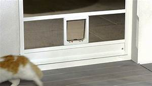 Katzenklappe Für Fenster : reissfestes katzengewebe f r katzent ren und hundeklappen youtube ~ A.2002-acura-tl-radio.info Haus und Dekorationen