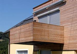 Sichtschutz Für Balkongeländer : terrassengel nder balkongel nder balkongel nder aus l rchenholz balkon modern pinterest ~ Markanthonyermac.com Haus und Dekorationen