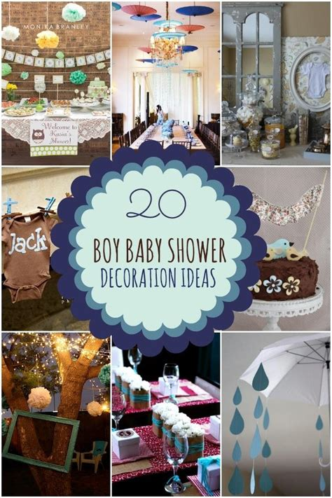 Decorating Ideas For Baby Shower Boy by 20 Boy Baby Shower Decoration Ideas Spaceships And Laser
