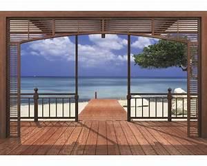fototapete el paradiso 388 x 270 cm jetzt kaufen bei With balkon teppich mit flüssigtapete auf alte tapete