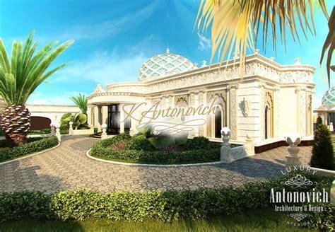 Luxurious Villa Exterior Abu Dhabi