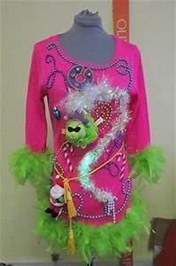 Grinch foo foo tacky ugly christmas sweater mini