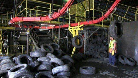 tire recycling conveyor system case study pacline