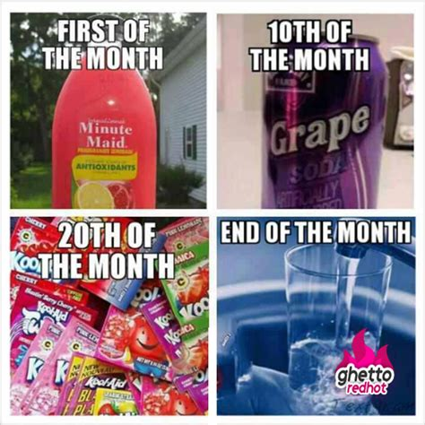 1st Of The Month Meme - square meme archives ghetto red hot