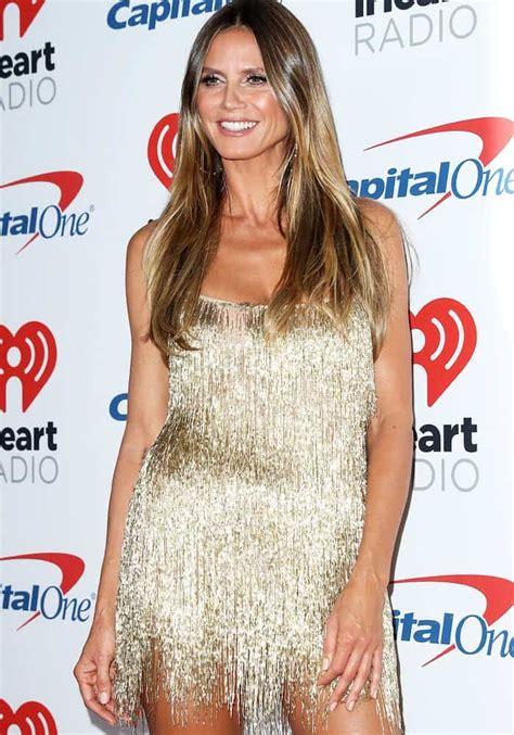 Heidi Klum Iheartradio Awards Chiara Ferragni Star