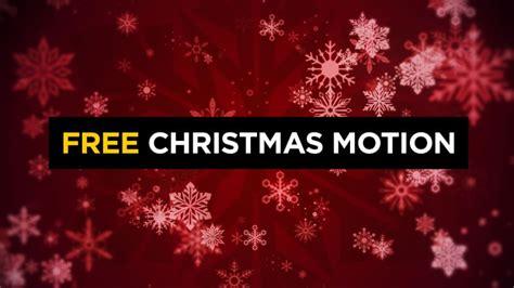christmas snowflake motion background cmg church