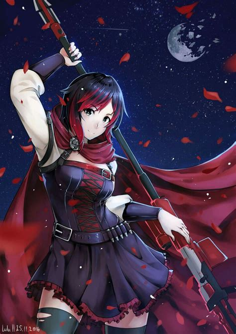 ruby rose rwby fanart ruby rose rwby rwby pinterest rwby screensaver