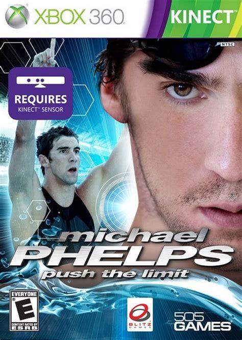 Xmichael Phelps Push The Limit Box 360 Game