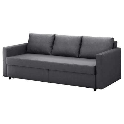 ikea canapé lit 2 places friheten three seat sofa bed skiftebo grey ikea
