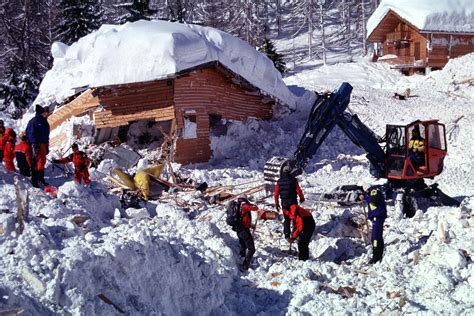 avalanche de montroc 1999