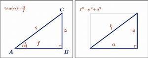 Katheten Berechnen : trigonometrie berechnungen am rechtwinkligen dreieck ~ Themetempest.com Abrechnung