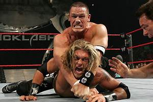 WWE Classic of the Week: John Cena vs. Edge vs. Triple H ...