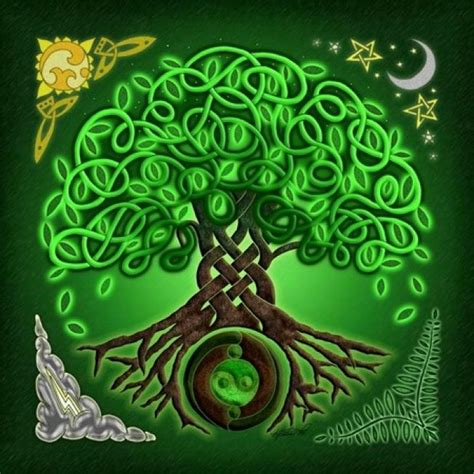 Oracle Tile And Stone by Celtic Mythology The Tree Of Life And Other Symbols We