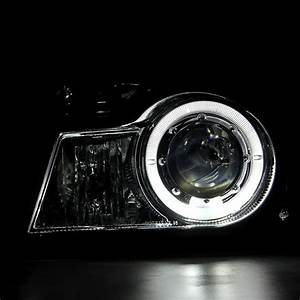 98-00 Ford Ranger Pickup Halo Projector Headlights   Corner Lens