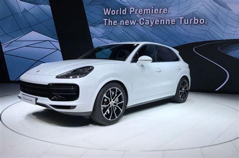 New 2018 Porsche Cayenne Turbo Unveiled