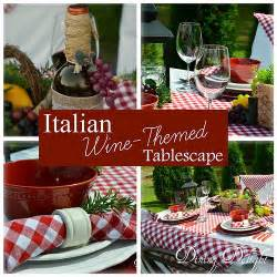 Italian Theme Decorations