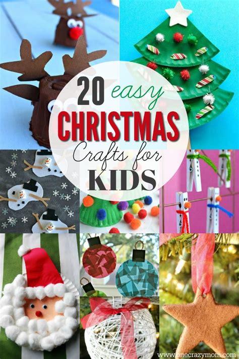 easy christmas crafts  kids  christmas craft ideas