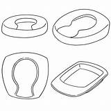 Bedpan Clip Clipart Bed Pan Vector Illustrations Chamber Clipground Pot sketch template