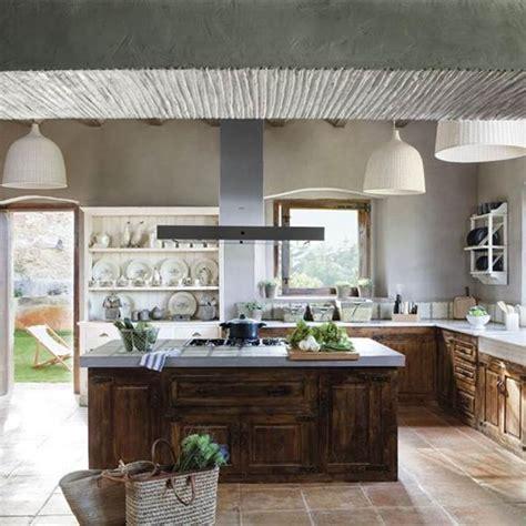 cocinas grandes de lujo islas  estilo  ideas