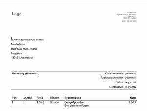 Keine Rechnung Erhalten Verjährung : download der kostenlosen vorlagen rechnung schreiben vorlage ~ Themetempest.com Abrechnung