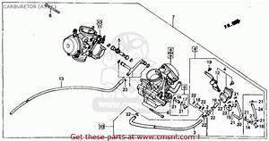 Honda Vt700c Shadow 1987  H  Usa California Carburetor