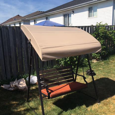 replacement canopy  kroger wood seat swing garden winds