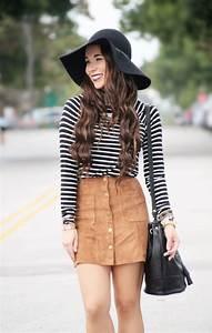 Suede Skirt... - Sunshine u0026 Stilettos