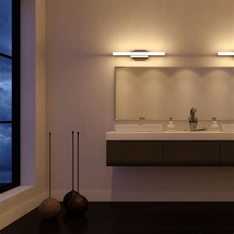 Modern Bathroom Light Fixture by Procyon Vmw11000al 23 Quot Led Bathroom Light Vanity Light