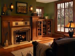 arts and crafts homes interiors kominek w salonie wystrój dekoracje moje wnętrza