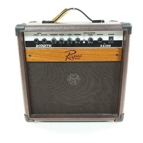 rogue ra200 watts guitar solid amp state reverb