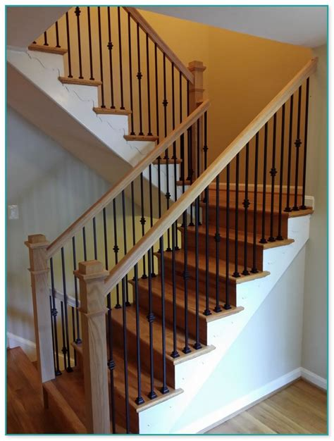 wrought iron spindles for staircase uk
