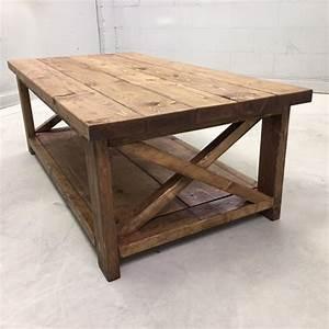 Farmhouse Coffee Table - Pine+Main