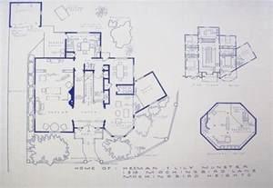 blueprint homes floor plans floor plan munsters house 1313 mockingbird