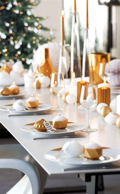 modern christmas table settings   inspired
