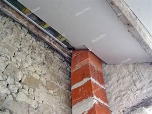 Cheminée En Brique : fondation maison ma onnerie comment fabriquer un linteau en briques r fractaires pour chemin e ~ Farleysfitness.com Idées de Décoration