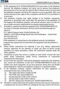 Zte Zxhnh108nv31 Home Gateway User Manual Use Manual Zxhn