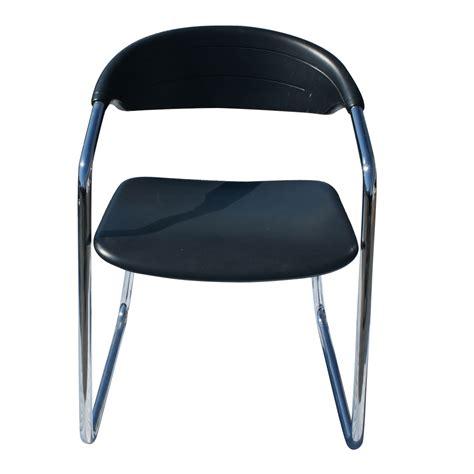 kinetics black chrome office chairs ebay