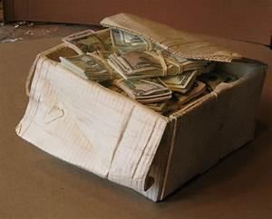 Wooden box of money - AR15 COM