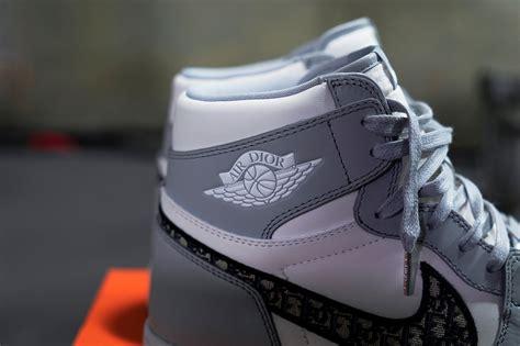 A Closer Look At The Dior X Nike Air Jordan 1s