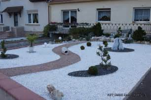 Jardin Cailloux Blancs by D 233 Coration Jardin Caillou Blanc