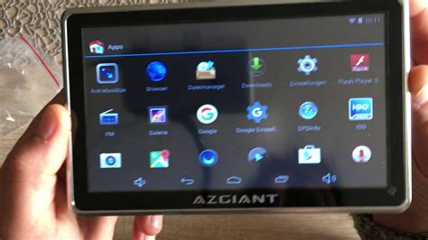 Navi Lkw Pkw Test Azgiant 7 Zoll Multifunktional Lkw Navigation Tablet Android 16 Gb