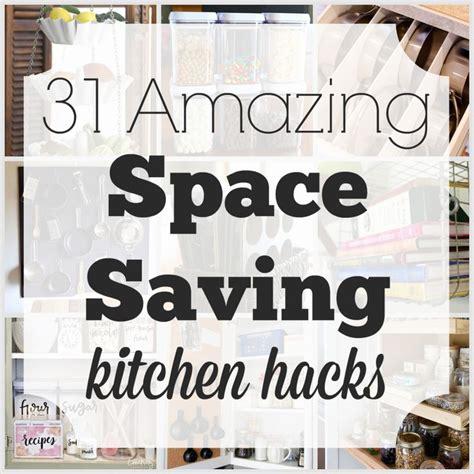 Kitchen Hacks Space by 31 Amazing Space Saving Kitchen Hacks Awesome Diy