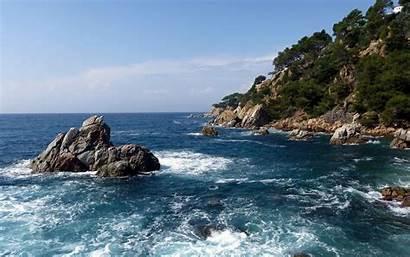 Ocean Sea Wallpapers Stone Nature Samsung Wallpapertag