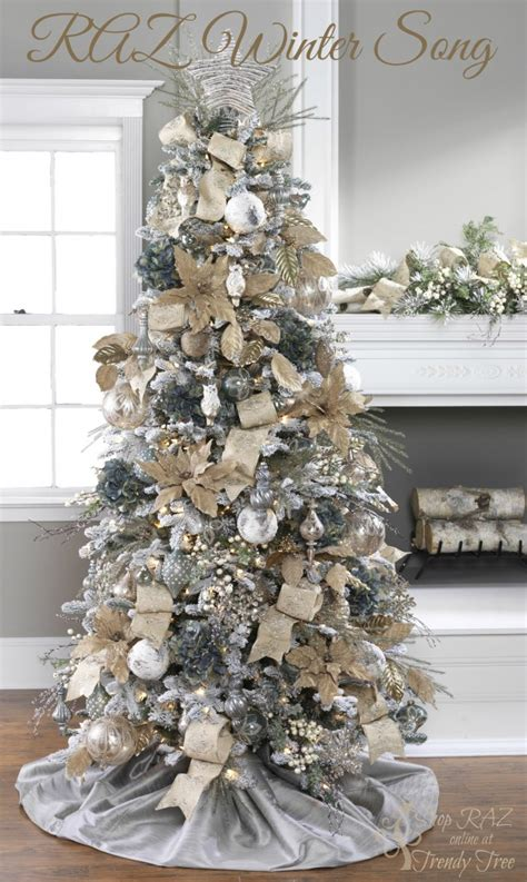 Raz Decorations by 2015 Raz Trees Trendy Tree Decor