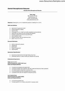 Cv And Cover Letter Samples Spa Receptionist Resume Objective Examples We Are Here To