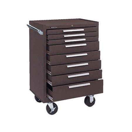 kennedy roller cabinet kennedy 378xb 00618 roller cabinet 8 drawers brown