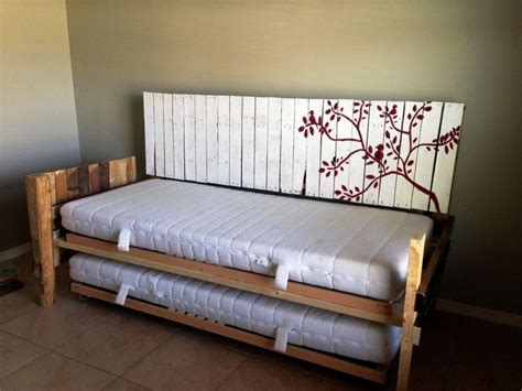 diy daybed lowes diy daybed  headboard tempat